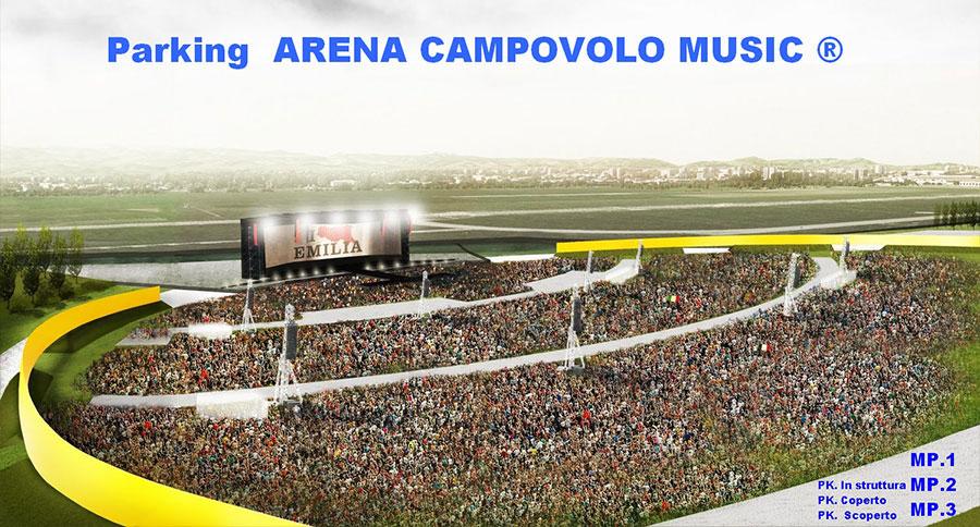Parcheggio Arena Campovolo